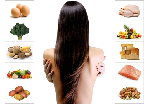 Healthy Hair Food